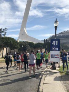 Marathon Olympique de Barcelone 1992