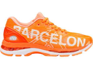 asics nimbus 20 collector barcelone 2018 orange