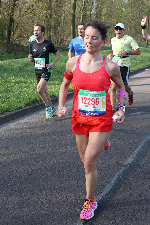 marathon, marathon de paris, poids de forme, running
