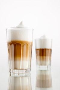Latte, café au lait, café latte, tca