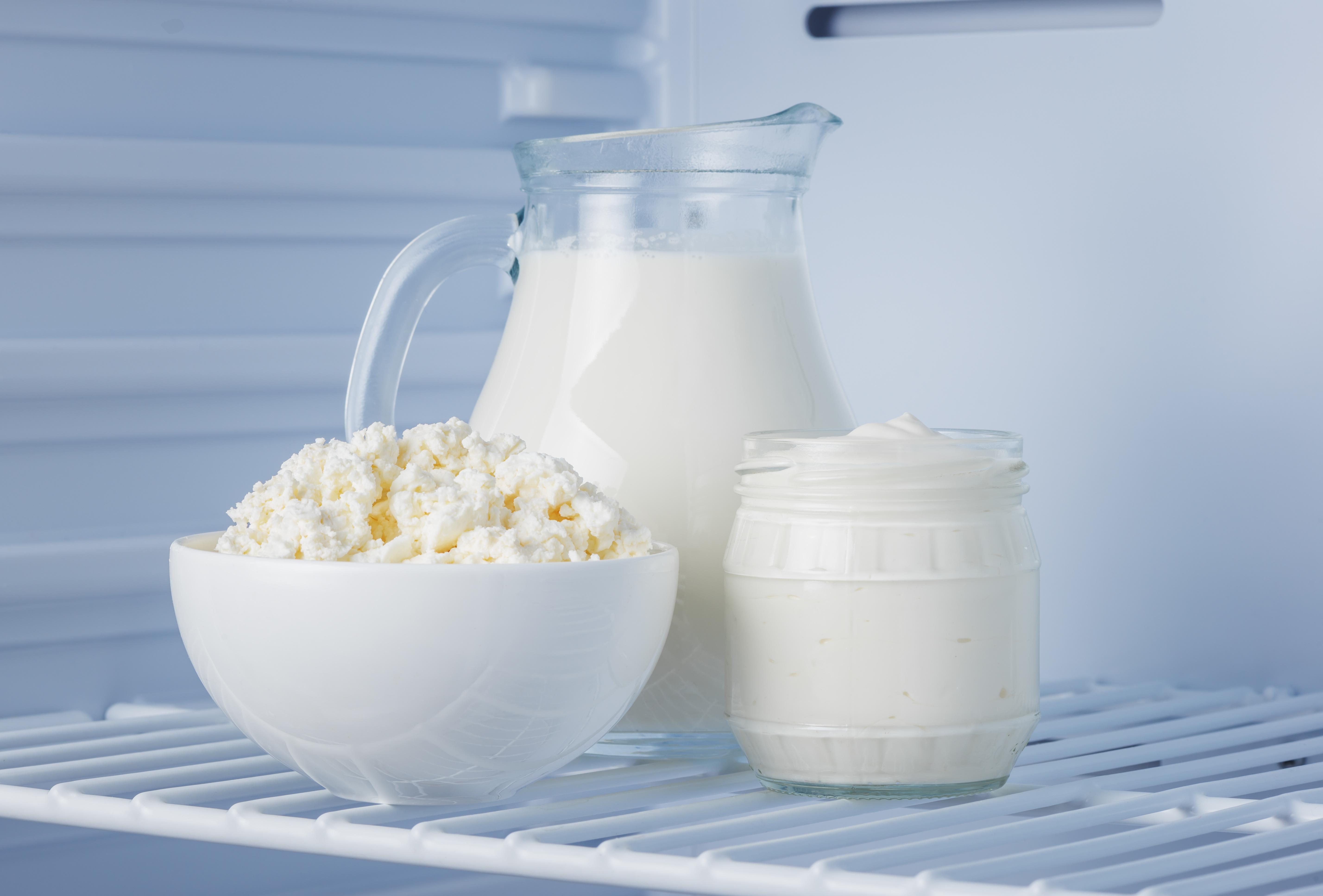 lait, produits laitiers, fromage de brousse, yaourt, tca